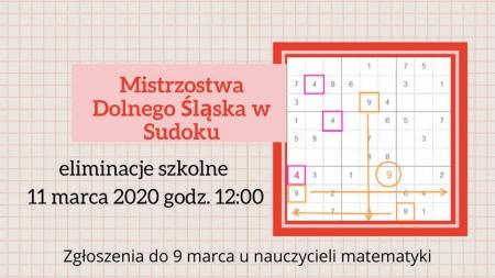 Mistrzostwa Sudoku w Chrobrym